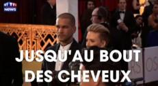 Scarlett Johansson et Romain Dauriac unis... jusqu'au bout des cheveux