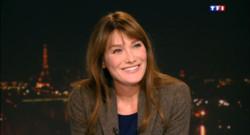 """Le 20 heures du 10 novembre 2013 : Carla Bruni, invit�du 20h : """"J%u2019�is pas mal dans la m�ncolie"""" - 2216.857"""