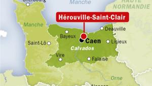 Localisation de Hérouville-Saint-Clair, en Saône-et-Loire