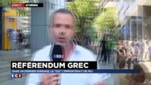"""Référendum grec : le """"oui"""" et le """"non"""" au coude-à-coude, """"l'indice que la pression monte"""""""