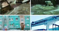 glaçons ville sibérie météo