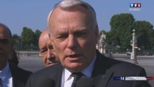 Jean-Marc Ayrault le 14 Juillet 2013