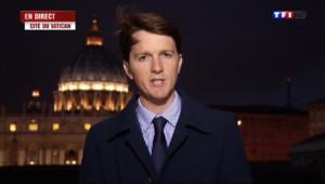 """Le 20 heures du 19 avril 2014 : P�es au Vatican : """"Le Pape va effectuer plusieurs bapt�s"""" - 964.528"""