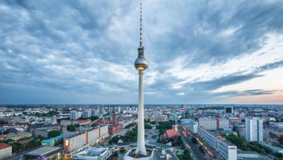 Une vue de Berlin