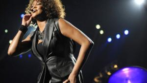 Whitney Houston en concert le 12 mai 2010 à Berlin