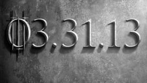 """Affiche de la troisième saison de la série """"Game of Thrones""""."""