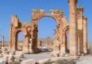 Arc de triomphe Palmyre pulvérisé (05/10)