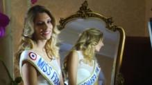 Camille Cerf, Miss France 2015, le lendemain de son élection, le 7 décembre 2014.
