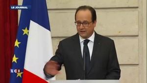 François Hollande décore les chasseurs de nazis Beate et Serge Klarsfeld à l'Élysée