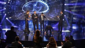 Un jeune Syrien remporte Arab Idol à Beyrouth, le 13 décembre 2014.