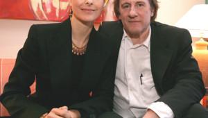 Gérard Depardieu et Carole Bouquet en 2005 en Suisse