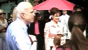 John McCain Sarah Palin Gustav
