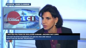 """Rachida Dati sur l'UMP : """"Il faut faire attention à ne pas utiliser des méthodes de mafieux"""""""