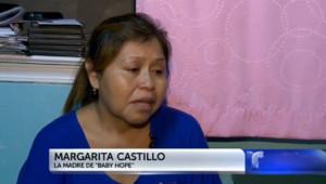 """Margarita Castillo, la mère de """"Baby Hope"""", s'est exprimé pour la première fois dans les médias en 22 ans, le 15 octobre 2013."""