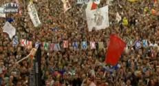 Pologne : près de 750.000 personnes au festival Woodstock