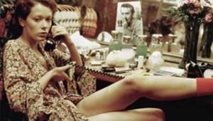 Sylvia Kristel dans le film Emmanuelle