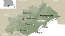 Carte de localisation de Lamalou-les-Bains, dans l'Hérault