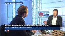"""Conférence de Hollande : Mandon """"consterné"""" par les journalistes"""