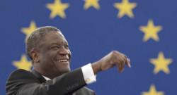 Denis Mukwege a reçu le prix Sakharov, mercredi 26 novembre 2014.
