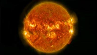 Impressionnantes éruptions à la surface du soleil