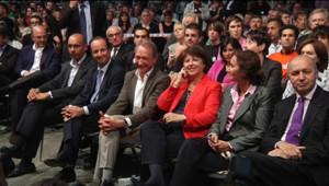 L'unité affichée à la Convention sur le projet du PS le 28 mai 2011