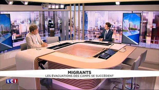 """Migrants : """"Les gens pensent qu'on est submergé, il n'en est rien"""""""