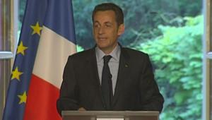 Nicolas Sarkozy le 2 juin 2008