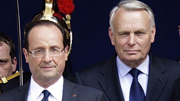 François Hollande et Jean-Marc Ayrault, le 15 mai 2012.