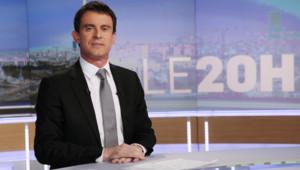 Manuel Valls, sur TF1, le 2/4/14