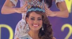 Rolene Strauss, Miss Afrique du Sud, a été sacrée Miss Monde 2015.