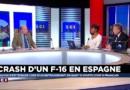 """L'hypothèse de la panne moteur """"probable"""" pour expliquer le crash du F-16"""
