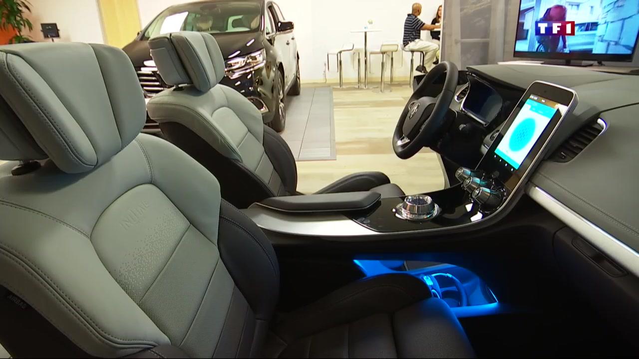 la voiture de demain se d veloppe en californie le journal de 13h mytf1news. Black Bedroom Furniture Sets. Home Design Ideas
