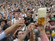 Lancement de la fête de la bière à Munich le 20 septembre 2014