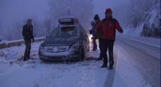 Le 20 heures du 29 janvier 2015 : La neige et les fortes pluies perturbent déjà la France - 223.9328017578125