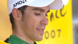Alberto Contador (image d'archives de 2007)