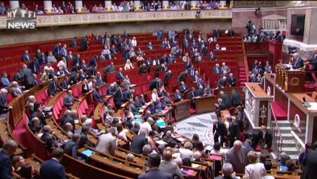 Attentat de Nice : minute de silence à l'Assemblée nationale