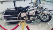 La moto Harley Davidson de Michel Polnareff mise aux enchères à Drouot le 19 mars 2016