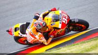 Marc Marquez (Honda) déjà poleman, domine les derniers essais du GP d'Allemagne
