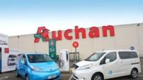 Auchan et Nissan