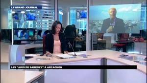 """Brice Hortefeux à Arcachon : """"Plus de 100.000 donateurs"""" à l'UMP"""