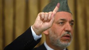 Hamid Karzaï, président aghan, en août 2009