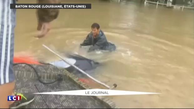 Inondations aux États-Unis : la Louisiane reste en état d'urgence