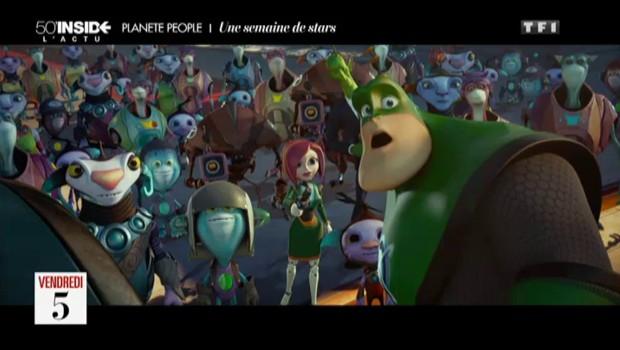 """Nikos Aliagas double un personnage de dessin animé dans """"Ratchet et Clank"""""""