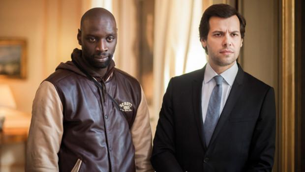 Omar Sy et Laurent Lafitte dans le film De l'autre côté du périph' de David Charhon