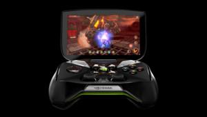 Project Shield, la console de Nvidia présentée au salon CES de Las Vegas.