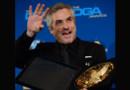 Alfonso Cuaron, le réalisateur de Gravity, a été sacré meilleur cinéaste de l'année par le syndicat américain des réalisateurs, le 25 janvier 2014.
