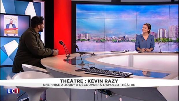 """Kévin Razy fait sa """"Mise à jour"""" : """"avant d'être humoriste, je suis citoyen français"""""""