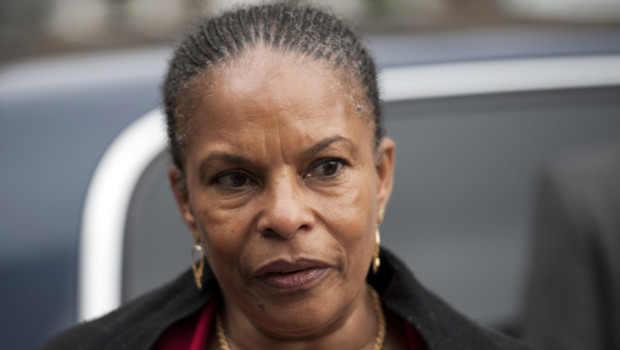 La ministre de la Justice Christiane Taubira/Image d&amp;#039;archives