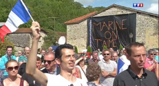 Le 20 heures du 30 août 2014 : Marine Le Pen ne prend pas de risque pour sa rentr�politique - 1019.026