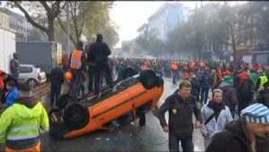 Le 20 heures du 6 novembre 2014 : Manifestation monstre en Belgique pour d�ncer la politique de rigueur - 1169.0580000000002